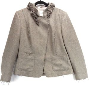 Banana Republic wool distressed jacket blazer